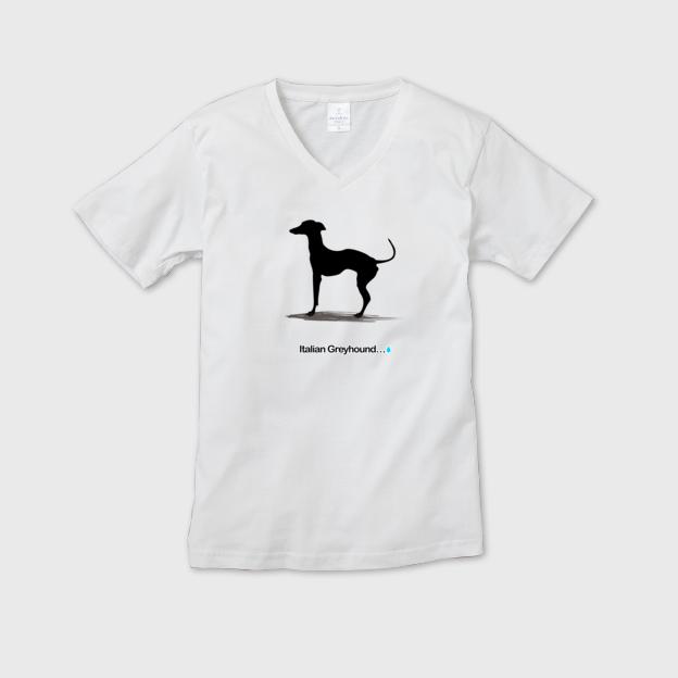 イタグレ シルエットTシャツ