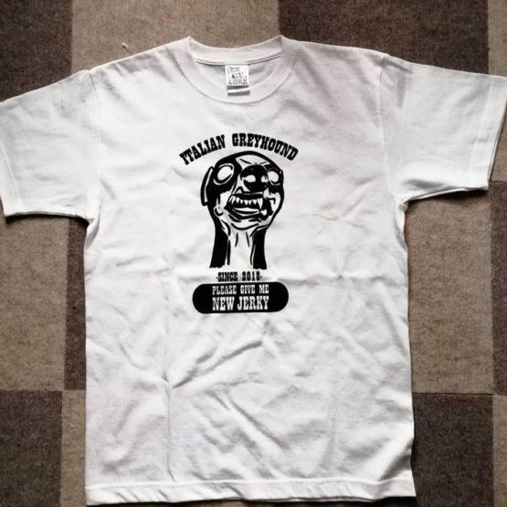 イタグレロックTシャツ